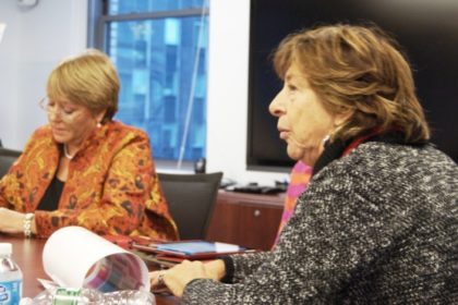 Dr. Bachelet with Dr. Bianco
